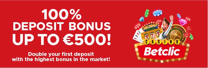 Betclic Registo bonus