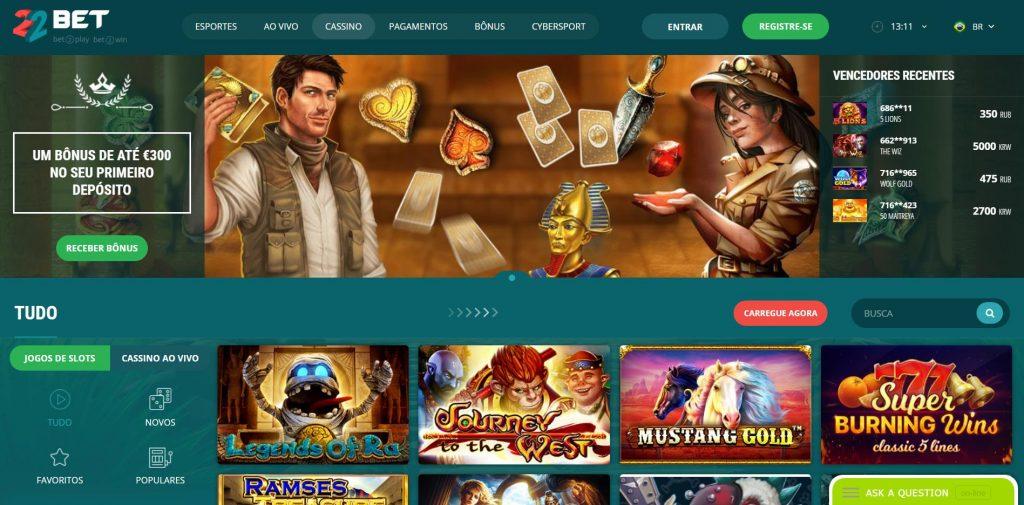 Promoções 22bet casino