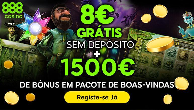 Bônus de inscrição 888 Casino